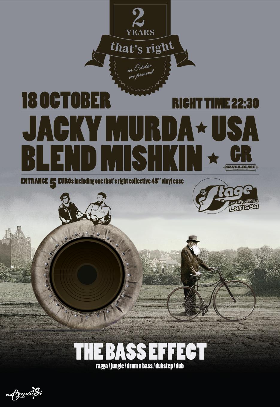 Jacky Murda 2012 Stage