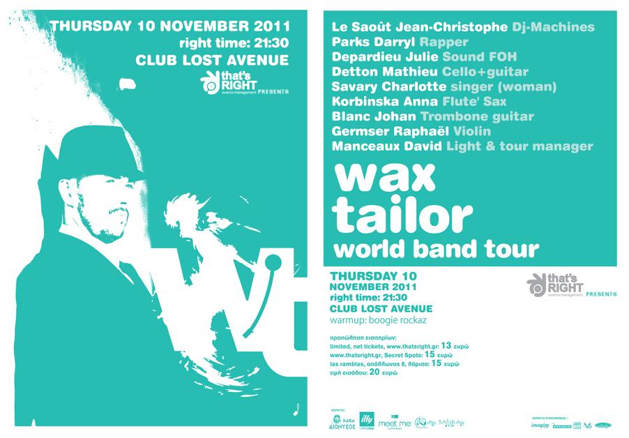 Wax Tailar 2011